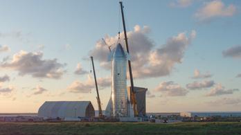 Még idén tesztrepülésre indulhat a Starship űrhajó