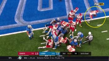 Senki sem tudta, mi történik, állva nézték a 99 yardos TD-t