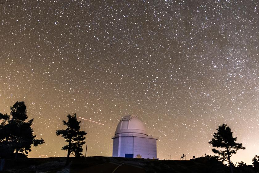 A csillagot a spanyolországi Calar Alto Obszervatóriumban fedezték fel.
