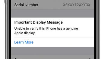Az Apple nem szeretné, ha a sarki mobilos szerelgetné az új iPhone-okat