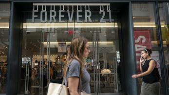 Becsődölt a Forever 21 üzletlánc is