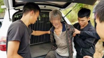 17 év után egy barlangban találtak meg egy kínai szökevényt