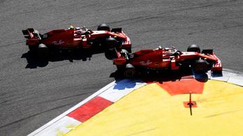 Lábon lőtte magát a Ferrari