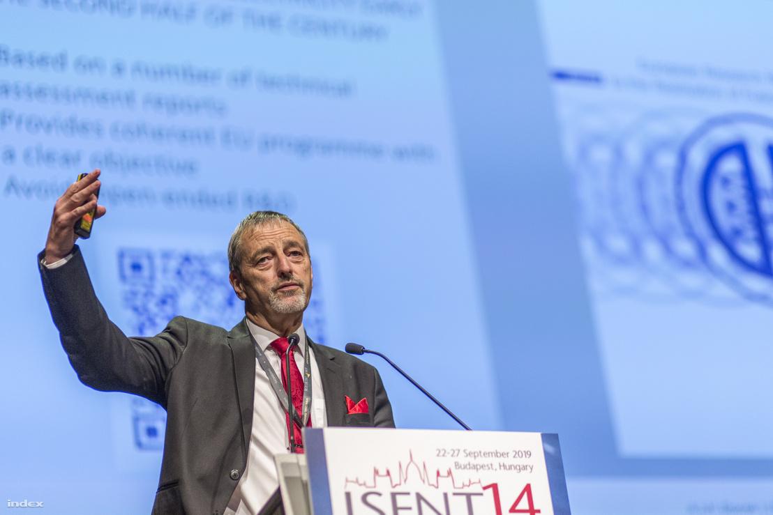 Tony Donné, az EUROfusion programmenedzsere, vezérigazgatója