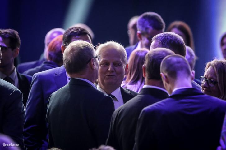 Tarlós István a Fidesz tisztújító kongresszusán 2019. szeptember 29-én