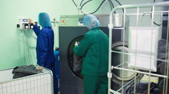 Veszélyes kórokozókat terjeszthetnek a mosógépek