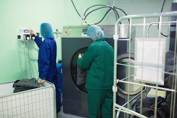 A professzionális kórházi mosógépekkel nincs gond