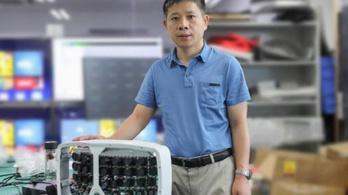 Nem bújhatsz el a kínai Nagy Testvér 500 megapixeles kamerája elől