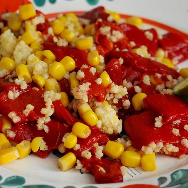 Kölessaláta kukoricával és sült kápiával: vega ebéd vagy szuperizgalmas köret