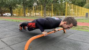 Így csináld a fekvőtámaszt, hogy haszna is legyen