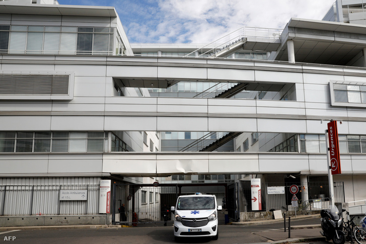 A párizsi Georges-Pompidou kórház, ahol Michael Schumachert kezelik