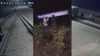 Vastagon fogott a bíróság tolla a felcsúti kisvasutat átmatricázó aktivisták büntetésénél