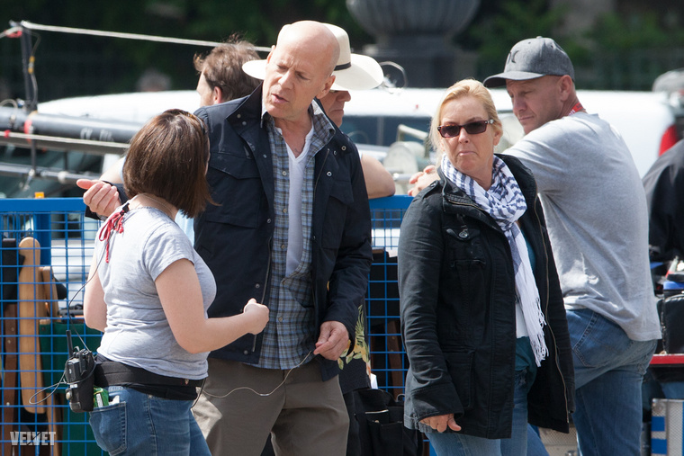 Nem maradt Magyarország világsztárok nélkül 2012-ben sem: májusban Bruce Willis forgatott Budapesten