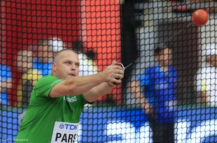 Pars Krisztián a dohai atlétikai világbajnokság selejtezőjében