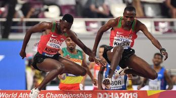 Mutogatva, dumálva futott vb-döntőbe a kenyai showman