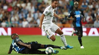 A Bruges kétszer átszaladt a Realon, de nem nyert Madridban