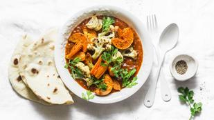 Ezzel kezdd a húsmentes életmódot: Tökös-spenótos curry
