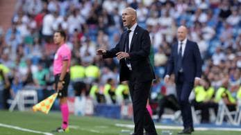 Zidane: Sosem játszottunk ilyen rosszul