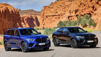 Itt az új BMW X5 M és X6 M