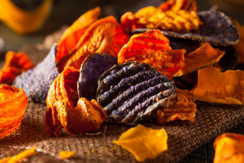 Ropogós házi zöldségchipsek: szuperegészséges finomságok