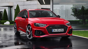 Megújul az Audi kisebbik sportkombija