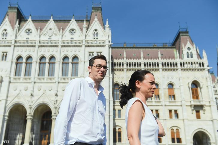 Tímea Szabó and Gergely Karácsony