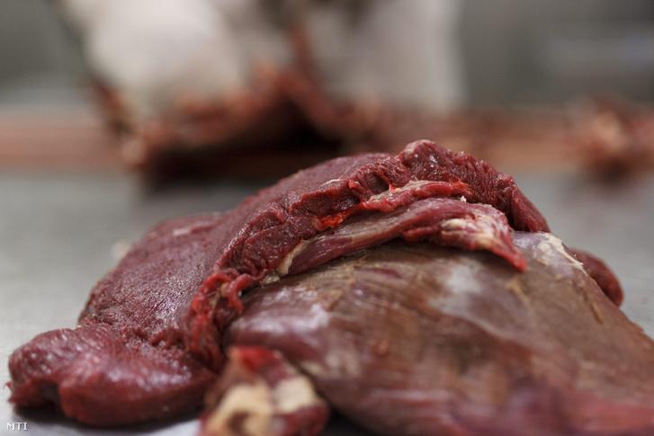 Éttermi felhasználásra szánt nyers vadhús