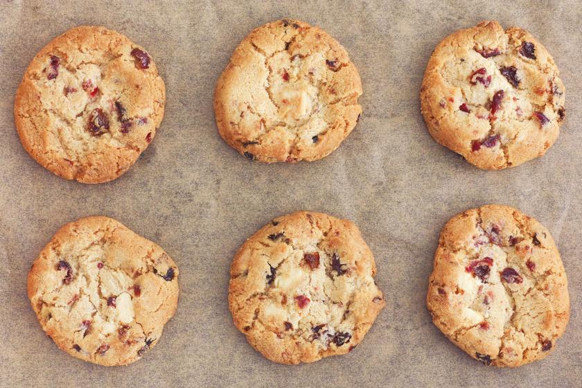 30 perces édes, vajas, csokis-áfonyás keksz: lehetetlen abbahagyni, annyira finom