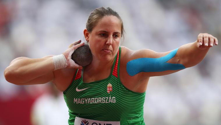 Márton Anita a dohai atlétikai világbajnokság döntőjében