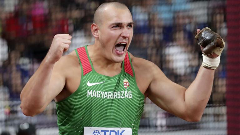 Halász Bence világbajnoki bronzérmes lett kalapácsvetésben