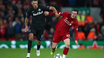 BL: hétgólos őrület lett a Liverpool-Salzburg, Suárez duplával fordított az Inter ellen