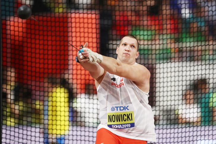 Nowicki a dohai atlétikai vb kalapácsvető döntőjében