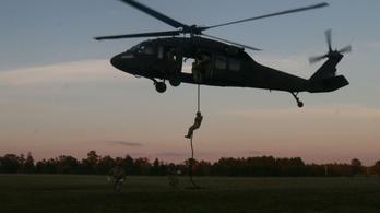 Több ejtőernyős is megsérült egy katonai gyakorlaton Amerikában