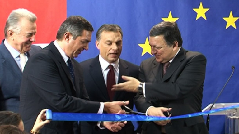 Átadták, mégsem nyitott meg az Európa Pont