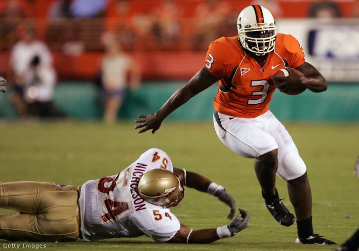 Frank Gore a Miami Hurricanes egyetemi amerikaifutball-csapat játékosaként