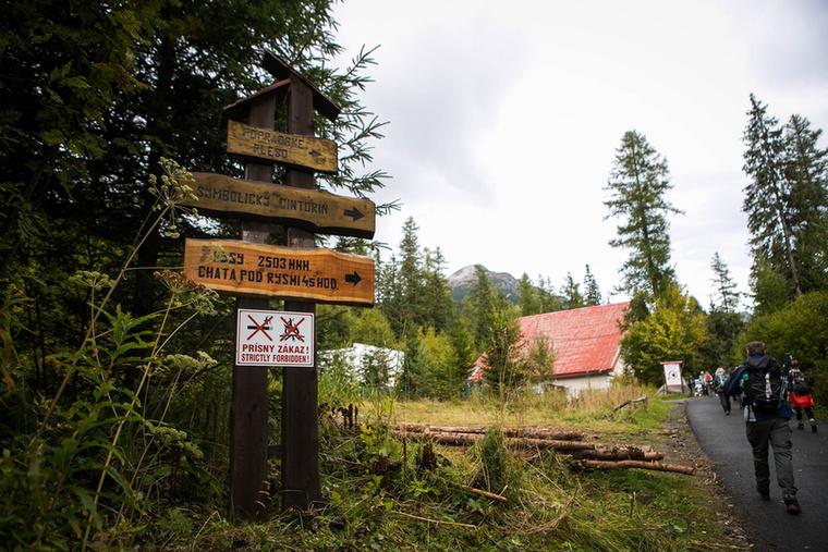 A túratáv 18 kilométer, a szintkülönbség kb
