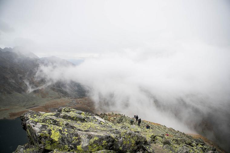 A Magas-Tátrában a változékony időjárás miatt hidegebb, szelesebb esős idővel is számolnunk kell
