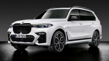 Új sportcsomagok a legnagyobb BMW-kre