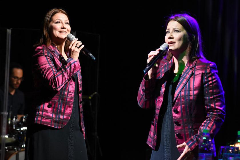 Bayer Friderika 2019. szeptember 22-én a Debrecenben, a Kinek mondjam el... címet viselő jubileumi koncertjén.