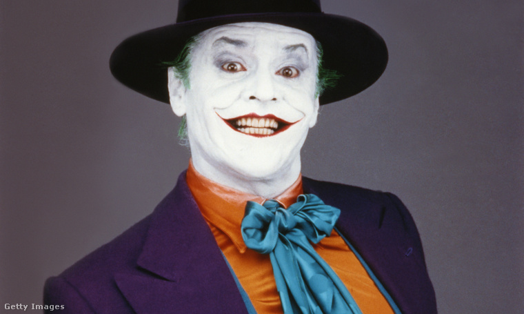 2. Jack Nicholson (Batman, 1989)