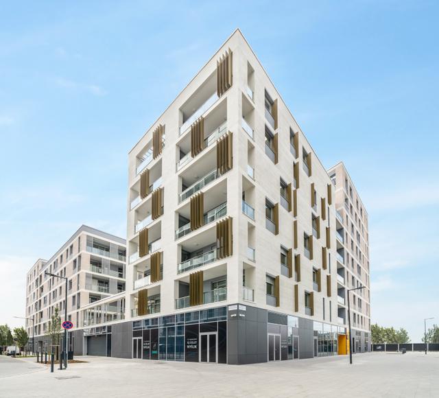 A BudaPart első, BRA elnevezésű lakóházát már szeptemberben átadták - fotó: Hlinka Zsolt