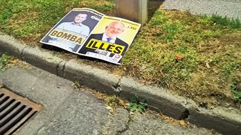 Ellopták az ellenzék plakátjait Szekszárdon, a rendőrök az önkormányzatban találták meg