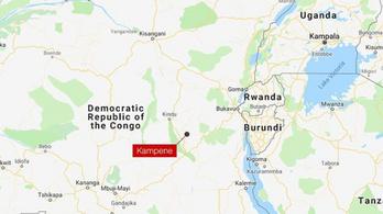 Beomlott egy illegális aranybánya Kongóban, 22 halott