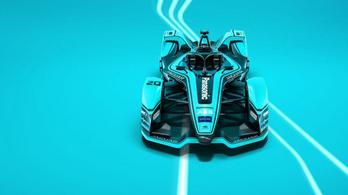 Itt a Jaguar új Formula-E gépe