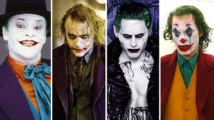 Elő a vörös rúzzsal, zöld hajfestékkel, lila öltönnyel! Kiből lett a legjobb Joker?