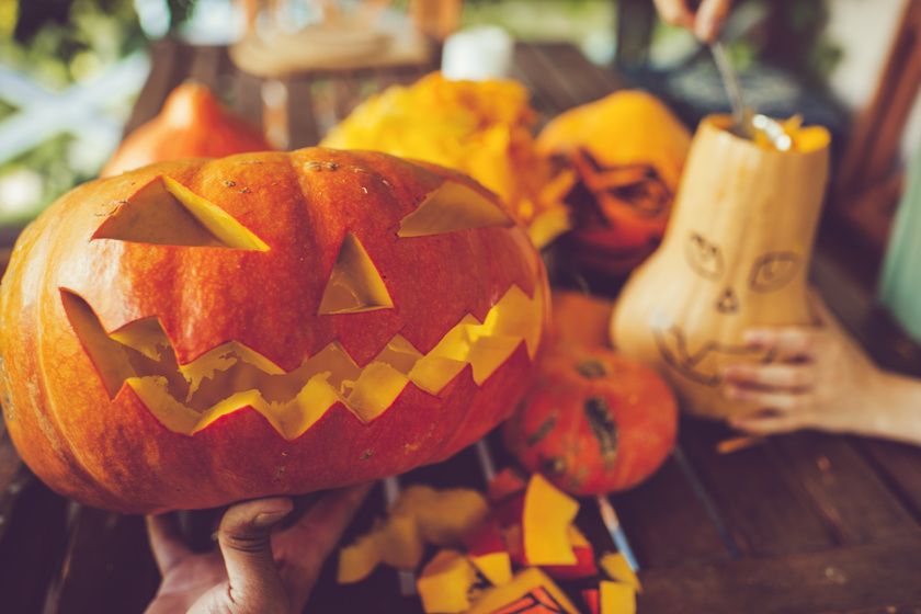 A tökéletesre faragott halloweeni tök 4 titka: az sem mindegy, melyiket választod
