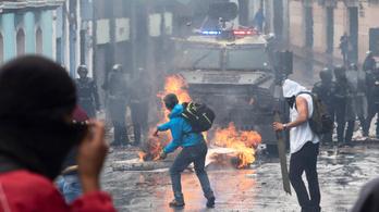 Szükségállapotot hirdetett ki Ecuadorban Lenín Moreno