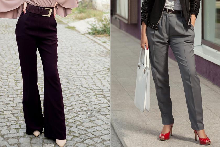 Extra nőiesek az ősz legdivatosabb nadrágjai: karcsúsító fazonok árakkal, lelőhelyekkel