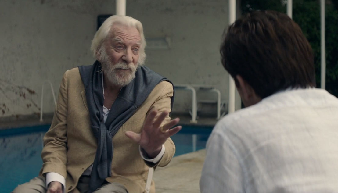 Donald Sutherland és Claes Bang
