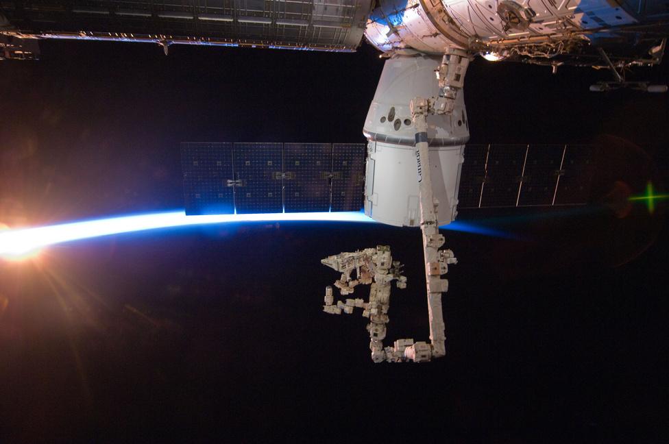 A kapszula az ISS Harmony nevű, japán gyártmányú moduljához kapcsolódott.